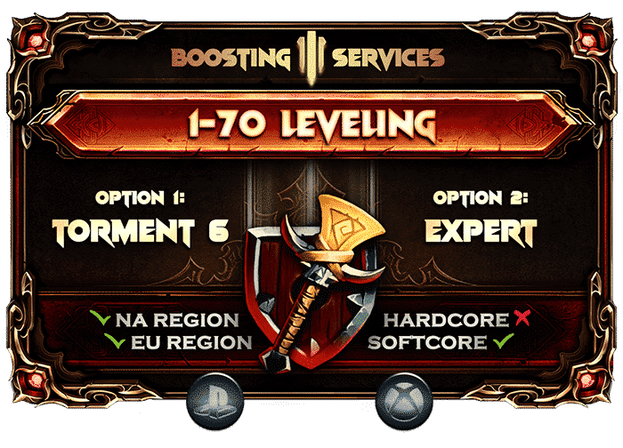 Diablo 3 Boosting Services - Leveling PS & Xbox-min