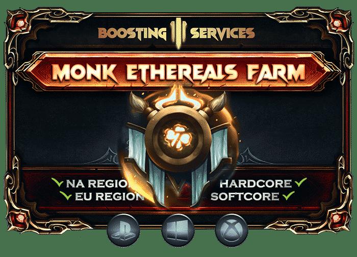 Diablo 3 Boosting Services - Monk Ethereals Farm-min