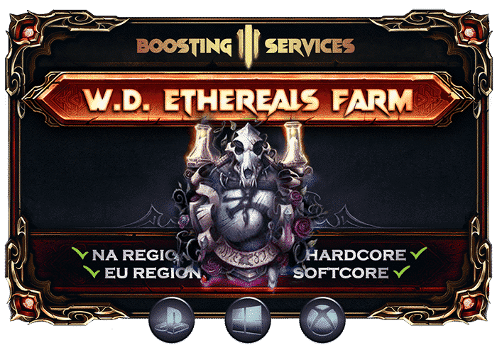Diablo 3 Boosting Services - Witch Doctor Ethereals Farm-min