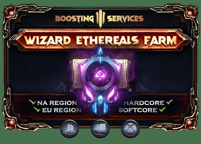 Diablo 3 Boosting Services - Wizard Ethereals Farm-min