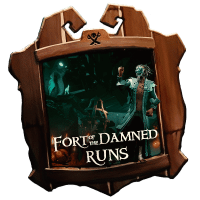 Sea of Thieves Fort Of the Damned Runs - Boosting Services-min