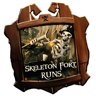 Sea of Thieves Skeleton Fort Runs - Boosting Services-min