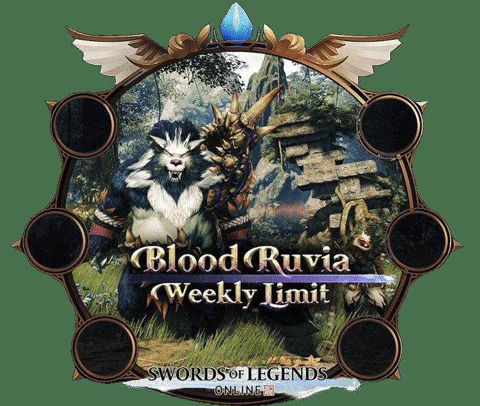 Swords Of Legends Online Boosting - Blood Ruvia Weekly Limit-min