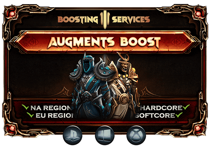 Diablo 3 Boosting Services - Augments Ancient Gear Boost-min