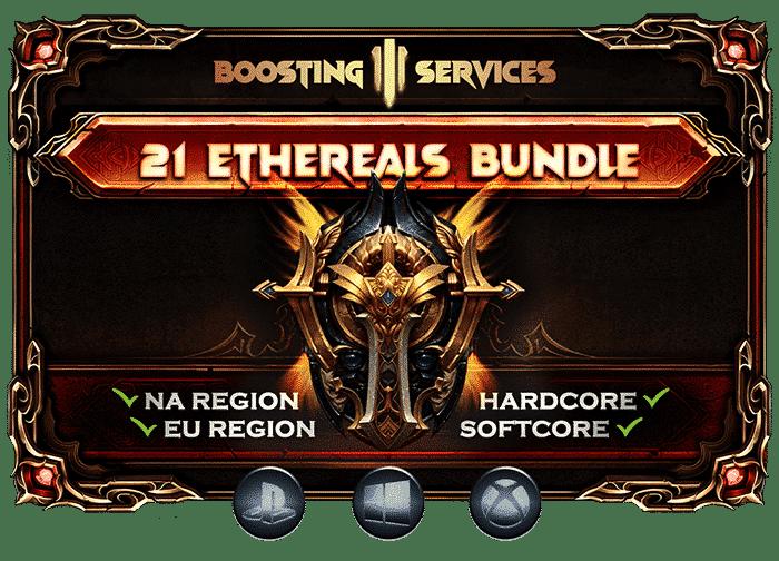 Diablo 3 Boosting Services Ethereals Bundle-min