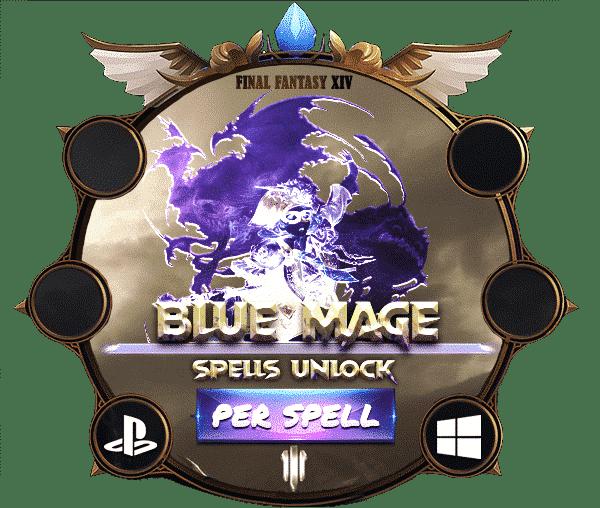 Final Fantasy XIV Boosting - Blue Mage Spells Unlock-min