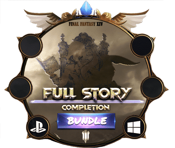 Final Fantasy XIV Boosting - Full Story Completion-min