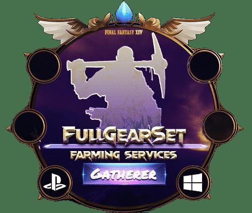 Final Fantasy XIV Boosting Gear Set Farm - Gatherer Sets D3Hell-min