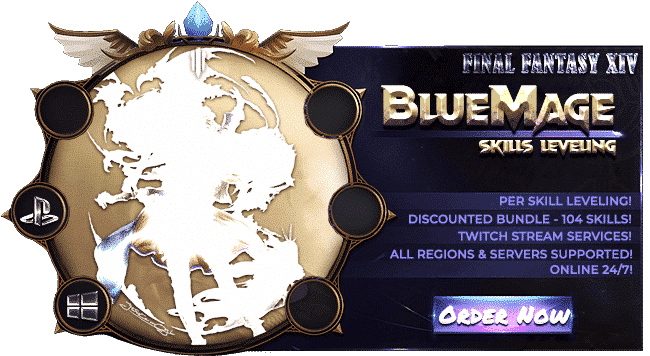 Final Fantasy XIV Boosting Services - Blue Mage-min
