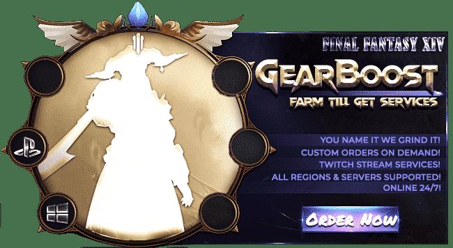 Final Fantasy XIV Boosting Services - Gear Boost-min