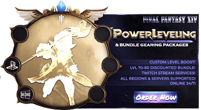 Final Fantasy XIV Boosting Services - Power Leveling-min