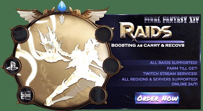 Final Fantasy XIV Boosting Services - Raid Carry & Recovs-min