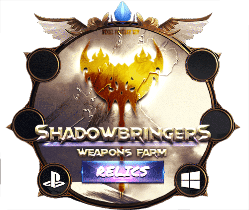 Final Fantasy XIV Boosting Shadowbringers Relic Weapons Farm 2-min