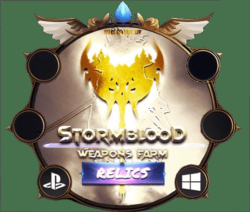 Final Fantasy XIV Boosting Stormblood Relic Weapons Farm 2-min