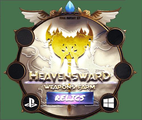 Final Fantasy XIV Boosting heavensward Relic Weapons Farm 2-min