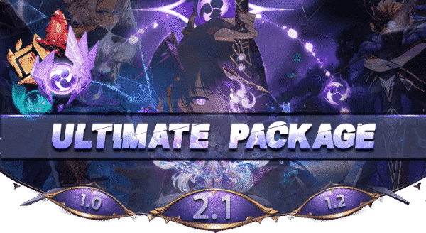 Genshin Impact Ultimate Package Boosting services-min