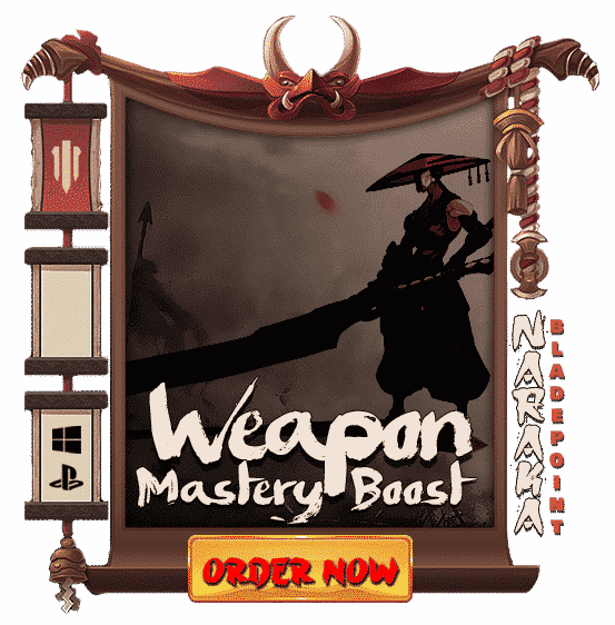 Naraka Bladepoint Boosting Weapon Mastery - Order Now-min