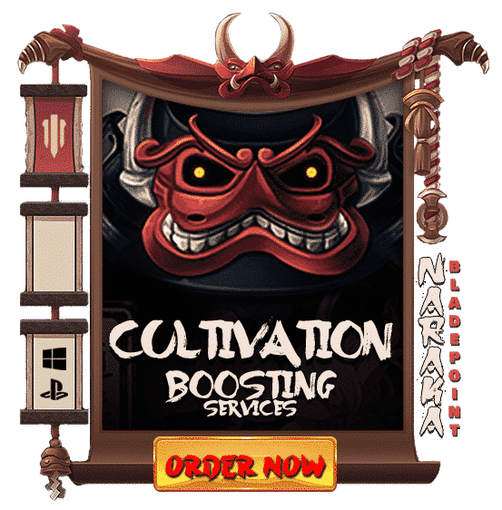 Naraka Bladepoint CULTIVATION Boosting - Order Now-min