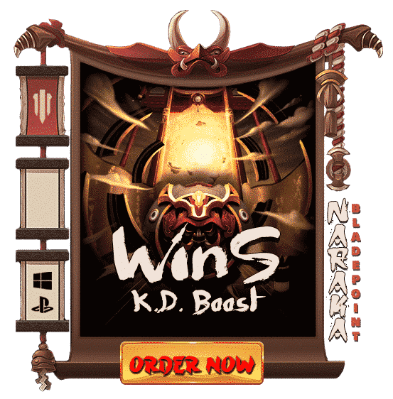 Naraka Bladepoint Wins Carry & KD Boost - Order Now-min