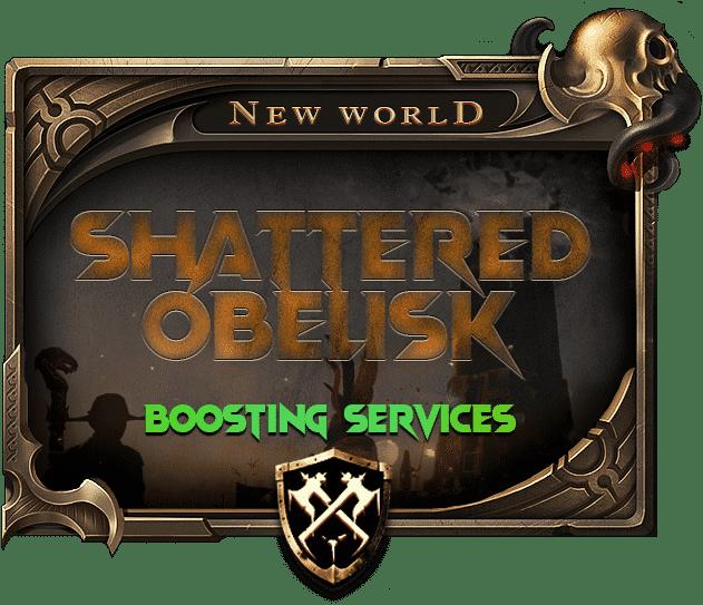 New World Shattered Obelisk Carry Boosting Services-min