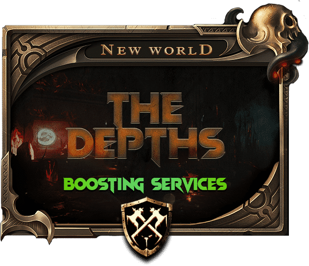 New World The Depths Carry Boosting Services-min
