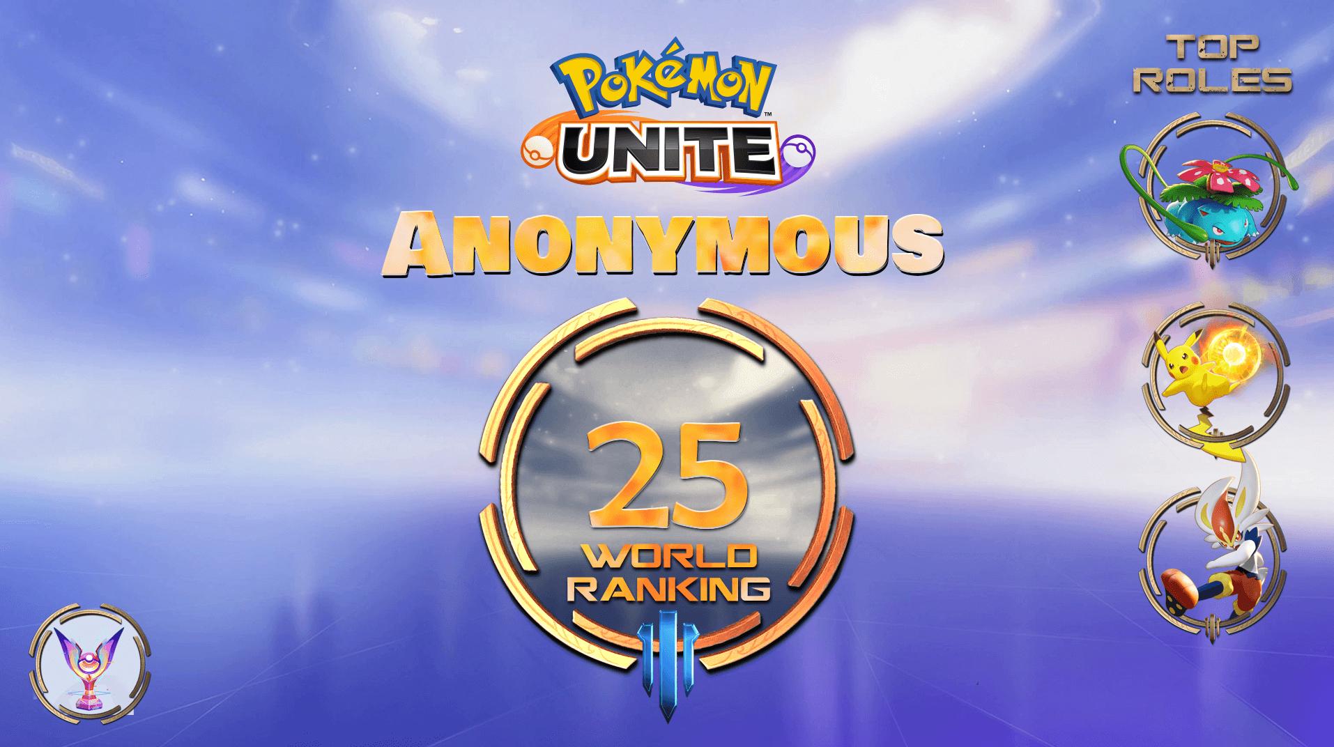 pokemon unite anonymous booster