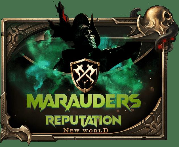 New World Reputation Boost - Buy Marauders Reputation-min