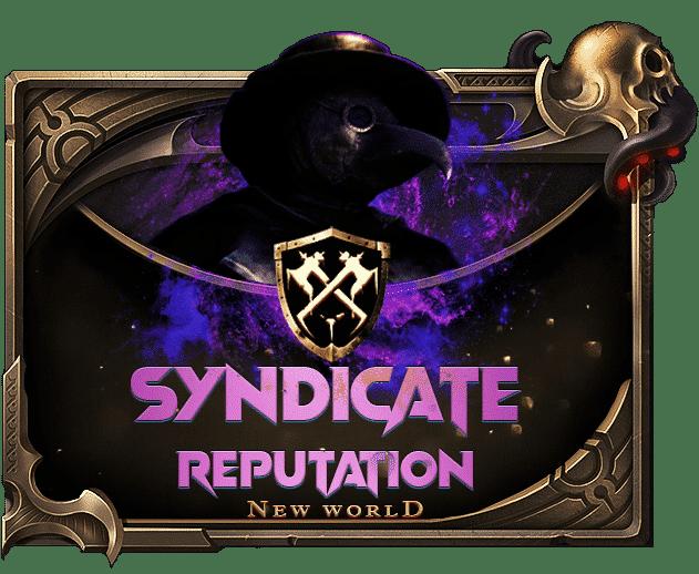 New World Reputation Boost - Buy Syndicate Reputation-min